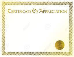 Certificate Of Appreciation Template Free Editable
