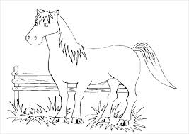 Free Horse Coloring Pages Horse Free Breyer Horse Coloring Pages