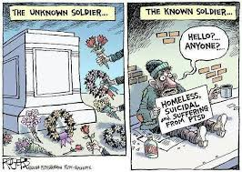 Image result for satire disgust at homelessness