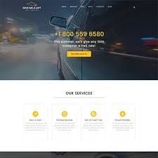 Free Downloads Web Templates Cab Taxi Website Templates