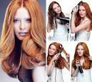 Как сделать причёску феном
