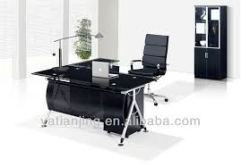 glass top office desk. Modern Glass Top Office Table Design - Buy Design,Glass Design,Tempered Product On Alibaba.com Desk P