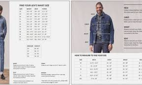 Levis 514 Size Chart 57 Complete Denizen Jeans Size Chart