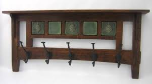 Arts And Crafts Coat Rack Mission 100 Hook Coat Rack Wthree 100 Tiles Sold Separately Click 7