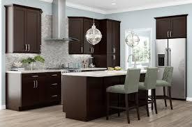 Mocha Shaker Kitchen Cabinets Bliss Cabinets Gallery