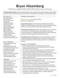 Bulletin Resume Template
