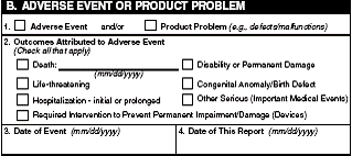adverse event reporting form big pharma should take reporting adverse events to fda more