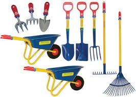 childrens gardening tools. First Tools Complete Gardening Set Of 10 - Garden Childrens I