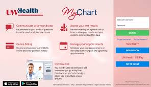 My Chart Access Myuw Mychart Uw Health Mychart Account Walkthrough