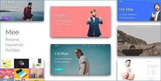 Personal Resume Website Template Resume Example