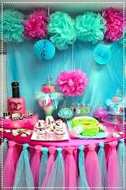 Dinner Party Decoration Ideas Party Table Ideas Spa Birthday Party