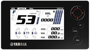 boat gauges outboard gauge set yamaha outboards command link plus lcd display single engine combo screen
