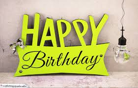 Holzausschnitt Happy Birthday Zum Geburtstag Geburtstagskarten