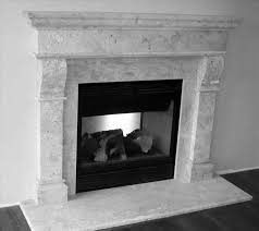 tile surround carrara marble black marble fireplace modern fireplace surround carrara white tile found at contempo