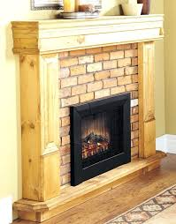 electric fireplace log standard set dfi096a really encourage insert with heater arrowflame deluxe 24 pertaining to