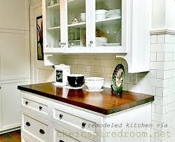 kitchen wood countertop