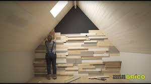 Slaapkamer Met Steigerhout Behang Huisdecoratie Ideeën