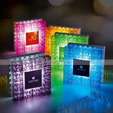 original diy block photo frame night light led colorful building block mood wall lamp usb kid touch night light creative diy toy dinodirect com