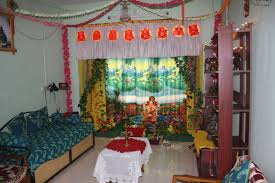 festival dhamaal ganapati decoration at home