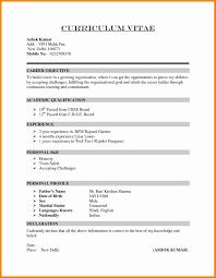 11 Cv Resume Example Theorynpractice