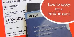 how to apply for a nexus card ng