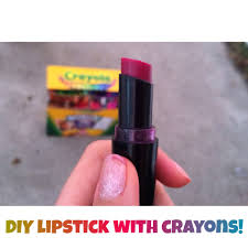 diy lipstick with crayons she added more ings vanilla honey vaseline
