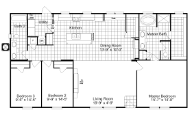 Single Wide Mobile Home Floor Plans 2 Bedroom Mccants Mobile Homes Havegreat Line Of Single Wide Double Also 4