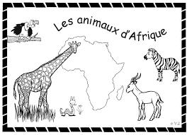 Coloriage De Afriquel