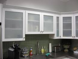 Frosted Glass Designs Cabinets Drawer Contemporay Single Wall Kitchen Design Frosted