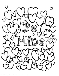 Small Picture Printable Valentine Day Coloring Pages Valentine Coloring Pages