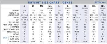 Us Divers Size Chart Northern Diver Thor 1600 Rubber Drysuit Contaminated Water Diving Suit