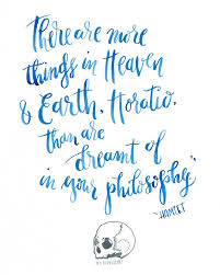 Hamlet Quotes Gorgeous Illustrated Calligraphy Quote Custom Pricing Hey Bernadette In