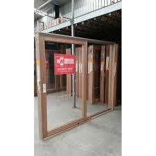 timber sliding door 2107mm h x 2700mm w