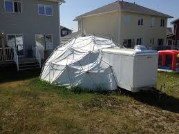 picture of 24 foot 3v geodesic emt dome