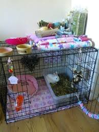 diy bunny cage pet rabbit ideas a indoor rabbit hutch made from a dog crate w