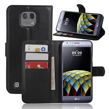 K580 <b>Luxury Wallet PU Leather</b> Cases For LG X Cam K580 5.2 ...