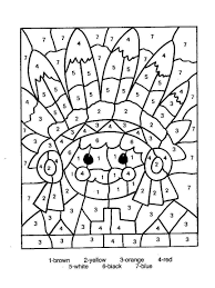In this post you will find number coloring pages, but if you want search more Printable Color Number Thanksgiving Coloring Pages Native With Numbers Thankful First Free Tures Turkey For Preschoolers Day Oguchionyewu
