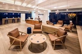 london office design. Reception Area At The Informa Office Designed By Ben Adams Architects. London Design S