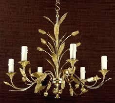 alma 6 light bronze chandelier 2