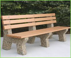concrete garden bench. Furniture Cool Curved Concrete Garden Benches Quality Stone And,Popular And Unique Bench F