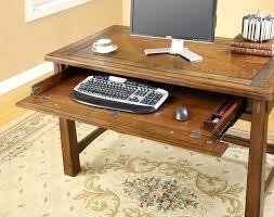 simple desks for home office. desk small riverside furniture craftsman home oak computer design ideas with sliding keyboard tray simple desks for office e