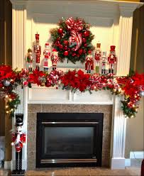 Christmas:Christmas Mantel Decorating Ideas Beautiful Nutcracker Christmas  Mantle Christmas Decorating Elegant Christmas Mantel Decorating