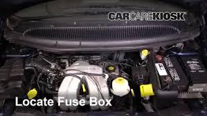 interior fuse box location 2001 2004 dodge grand caravan 2001 2000 dodge caravan fuse box 2001 dodge caravan se 2 4l 4 cyl fuse (interior) check