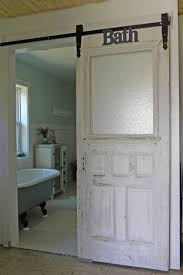 Barn Doors Add Style For Your Interior Home Design | American decor,  Farmhouse interior and Traditional bathroom