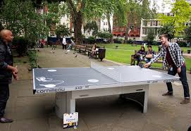 more tennis tables appear in london public parks thanks to ping