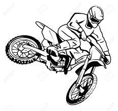 Drawn motorcycle bike stunt 80