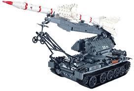 <b>Конструктор XingBao Ракетная</b> установка SA-2 (1623 детали ...