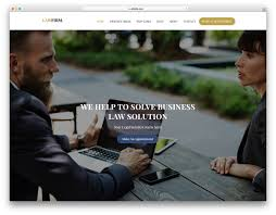 Law Templates 13 Best Free Lawyer Website Templates For Legal Sites 2019 Colorlib