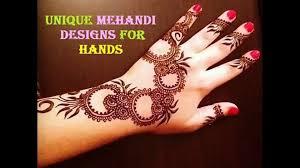 Latest Mehandi Designs For Diwali Mehandi Unique Latest Mehndi Design 944412 Hd