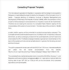 Project Management Proposal Template Free Download Management